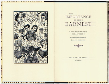 importance of being earnest how does The idea of turning oscar wilde's meringue-like comedy the importance of being  earnest into an opera is the sort of thunderclap that comes to.